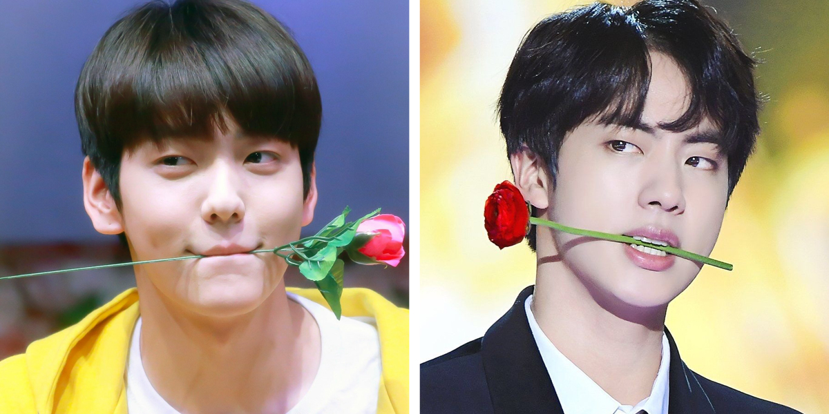 7 Times Txt S Soobin Took After His Fave Big Hit Senior Bts S Jin Kissasian