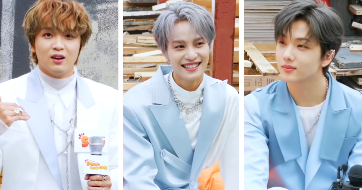Nct Haechan Yangyang And Jisung Reveal The Best And Hardest Parts Of Being Maknaes Kissasian