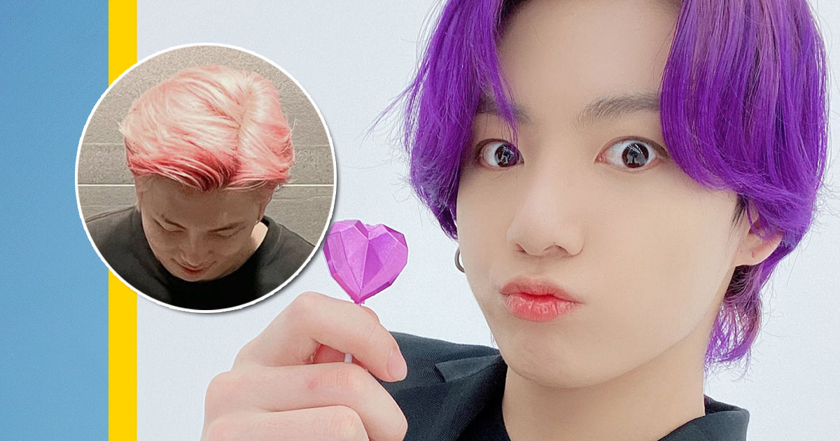 10 Of The Funniest Reactions To Bts S New Butter Hair Colors Kissasian